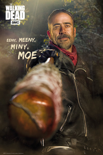 Plakát The Walking Dead - Negan