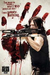 Plakát The Walking Dead - Daryl Dixon