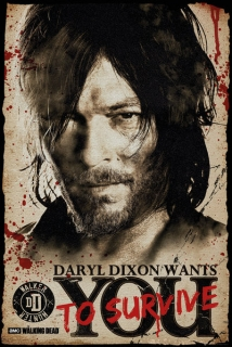 Plakát The Walking Dead - Daryl Dixon (3)
