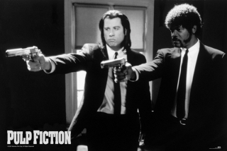 Plakát Pulp Fiction - Vincent a Jules