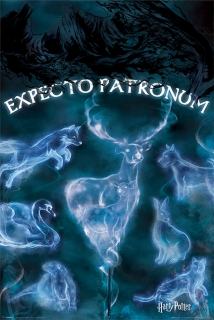 Plakát Harry Potter - Expecto Patronum (2)