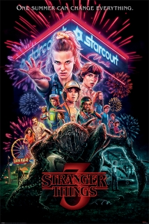 Plakát Stranger Things (4)